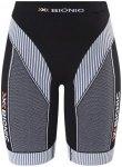 X-Bionic Effektor Running Power Pants Short Women Black/White L 2017 Kompression