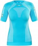 X-Bionic Effektor Running Power Shirt SS Women Turquoise/White S 2018 Kompressio