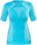X-Bionic Effektor Running Power Shirt SS Damen turquoise/white M 2018 Kompressio