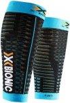 X-Bionic Spyker Competition Leg Warmer Women black/turquoise L 2018 Accessoires,