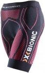 X-Bionic The Trick Running Pants Short Women Black/Pink XS 2018 Kompressionshose