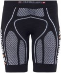 X-Bionic The Trick Running Pants Short Women Black/White M 2018 Kompressionshose