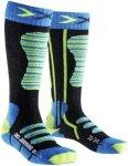 X-Socks Ski Socks Junior Turquoise/Yellow 27-30 2018 Wintersport Socken, Gr. 27-