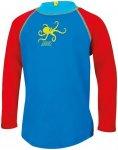 Zoggs Octopus Fever Zip Sun Top Boys Blue/Multi 98 2018 Sportshirts, Gr. 98