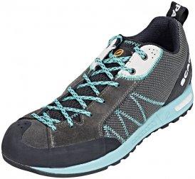 Keen Wanderer Mid Waterproof Braun-Schwarz, Damen Hiking- & Approach-Schuh, Größe EU 42 - Farbe Raven-Bright Chartreuse Damen Hiking- & Approach-Schuh, Raven - Bright Chartreuse, Größe 42 - Braun-Schw
