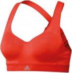adidas Cmmttd X - Sport BHs für Damen - Rot, Gr. 80E