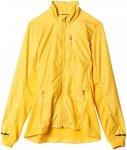 adidas W Xperior Fast Jacket - Laufjacken für Damen - Gelb, Gr. 36