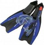 Aqua Lung Set Proflex II Schwimmen - Blau, Gr. 45/46