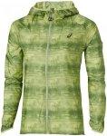 ASICS Fujitrail Pack Jacket - Laufjacken für Damen - Grün, Gr. XS