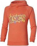 ASICS Graphic Hoodie - Sweatshirts & Hoodies für Mädchen - Orange, Gr. XL