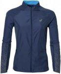 ASICS Lite-Show Jacket - Laufjacken für Damen - Blau, Gr. XS