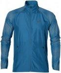 ASICS Lite-Show Jacket - Laufjacken für Herren - Blau, Gr. 46