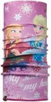 Buff Child Polar Sisters Pink/Mardi Grape - Kopfbedeckung für Mädchen - Lila,
