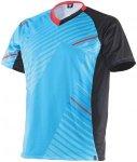 Dainese Flow Tech Jersesy Short Sleeve Radtrikots - Blau, Gr. XL