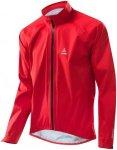 Löffler Gore Tex Active Prime Jacket - Triathlon für Herren - Rot, Gr. 52