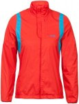 max-Q.com Windproof Ergonomic Running Jacket - Laufjacken für Damen - Rot, Gr.