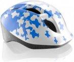 MET Buddy White / Blue Airplanes 46-53cm Kids - Helme für Kinder Unisex - Grau,