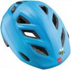 MET Elfo 46-53 cm Kids - Helme für Kinder Unisex - Blau, Gr. Uni