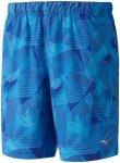 Mizuno Eagle Flex Shorts - Laufhosen für Herren - Blau, Gr. L