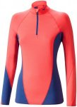 Mizuno Virtual Body G1 Halfzip - Laufshirts für Damen - Rot, Gr. M