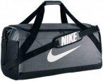 Nike Brasilia Duffel Bag Large Sporttaschen - Grau, Gr. Uni