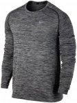 Nike Dry Knit Running Longsleeve - Laufshirts für Herren - Grau, Gr. XL