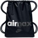 Nike Heritage Gym Sack Sporttaschen - Schwarz, Gr. One Size
