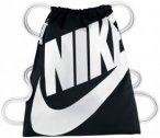 Nike Heritage Gymbag Sporttaschen - Schwarz, Gr. Uni