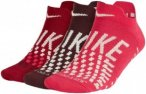 Nike Max Lightweight No-show Sock 3 Pair - Laufsocken für Damen - Rot, Gr. S