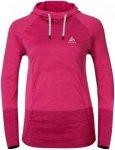 Odlo Hoody Midlayer Seamless Briana - Sweatshirts & Hoodies für Damen - Pink, G
