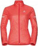 Odlo Jacket Irbis - Laufjacken für Damen - Rot, Gr. 38 - 40