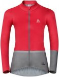 Odlo Jacket Mistral Logic - Radjacken für Damen - Rot, Gr. M