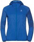 Odlo Jacket Wisp - Laufjacken für Damen - Blau, Gr. XS