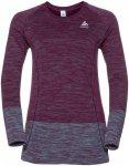 Odlo Midlayer Seamless Briana - Sweatshirts & Hoodies für Damen - Lila, Gr. M