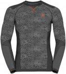 Odlo Shirt L/S Crew Neck Blackcomb Evolution - Laufshirts für Herren - Grau, Gr