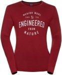 Odlo Shirt L/S Crew Neck Natural Merino - Funktionsunterwäsche für Herren - Ro