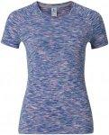 Odlo T-Shirt Short Sleeve Crew Neck Sillian - Laufshirts für Damen - Blau, Gr.
