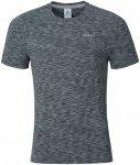 Odlo T-Shirt Short Sleeve Crew Neck Sillian - Laufshirts für Herren - Grau, Gr.