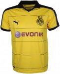 Puma BVB Home Replica Shirt with Sp Fußballbekleidung - Gelb, Gr. XL