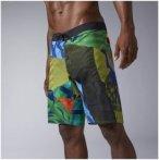 Reebok Crossfit Super Nasty Boardshort - Fitnesshosen für Herren - Grün, Gr. 4