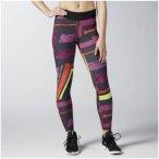 Reebok OS Reversible Tight - Fitnesshosen für Damen - Lila, Gr. 46-48