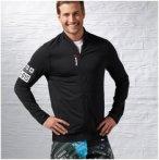 Reebok OS Track Jacket - Sweatshirts & Hoodies für Herren - Schwarz, Gr. XXL