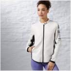 Reebok OS WP Primaloft Jacket - Laufjacken für Damen - Weiß, Gr. S