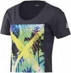 Reebok RCF Graphic Boyfriend Crop - Fitnessshirts für Damen - Schwarz, Gr. XS