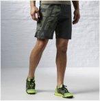 Reebok Spartan Mud Short - Fitnesshosen für Herren - Schwarz, Gr. XL