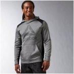 Reebok Workout Ready Warm Poly Fleece - Sweatshirts & Hoodies für Herren - Grau