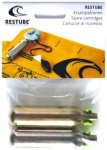 Restube CO2-Ersatzpatronen Pack (Paar) Schwimmen - Grau, Gr. Uni