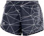 Salomon Agile Short - Laufhosen für Damen - Blau, Gr. XS