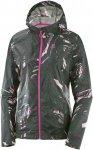 Salomon Agile Wind Print Hoodie - Sweatshirts & Hoodies für Damen - Grün, Gr.