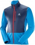 Salomon Rs Air Jacket - Laufjacken für Herren - Blau, Gr. XL